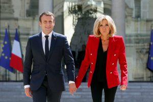 E. Macronas atsisakys planų įsteigti oficialų postą savo žmonai