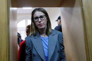 K. Sobčak ketina dalyvauti Rusijos prezidento rinkimuose
