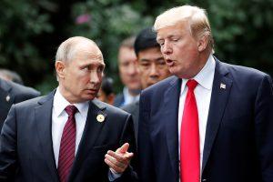 V. Putinas žada atsakyti į JAV puolimą prieš Kremliaus televiziją