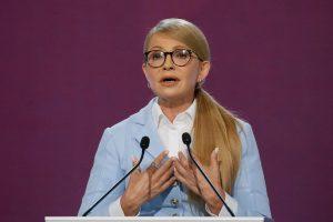 J. Tymošenko ketina dalyvauti Ukrainos prezidento rinkimuose