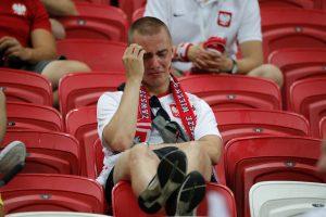 Kolumbijos futbolo rinktinė užtvėrė lenkams kelią į kitą etapą