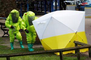 Rusija piktinasi Vakarų sprendimu užblokuoti draudžiamų cheminių ginklų sąrašą