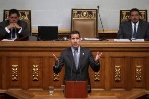 J. Guaido ragina Europą griežtinti sankcijas N. Maduro režimui