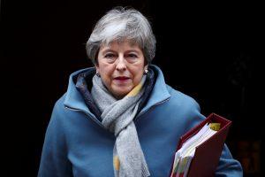 "Th. May prašo ES atidėti ""Brexit"""