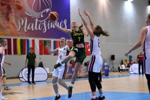 Lietuvos merginų krepšinio rinktinė nesėkme pradėjo Europos čempionatą