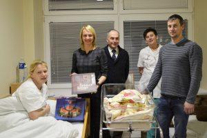 Sausio 1-ąją Trakuose gimę berniukas ir mergaitė – Lietuvos 100-mečio kūdikiai