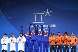 Pjongčango olimpinių žaidynių medalių įskaitoje tebepirmauja norvegai