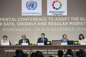 JT konferencija priėmė migracijos paktą