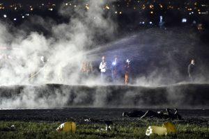 Meksikoje per pažeisto naftotiekio sprogimą žuvo mažiausiai 66 žmonės