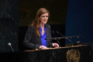 JAV ambasadorės prie JT kortežo automobilis užmušė vaiką