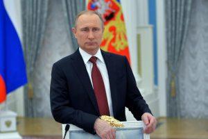 V. Putino parodija tapo interneto sensacija