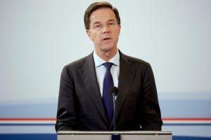 Olandijos premjeras nori atsakymų dėl Turkijos raginimo pranešti apie įžeidimus