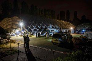 Vokietijos policija nukovė peiliu ginkluotą pabėgėlį