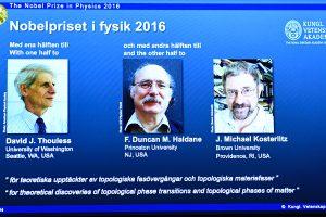 Paaiškėjo Nobelio fizikos premijos laureatai