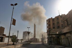 Rusija atmeta JT tyrimo išvadas dėl cheminių atakų Sirijoje
