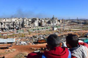 V. Putinas: kitas žingsnis Sirijai – ugnies nutraukimas visoje šalyje