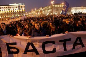 """Baltarusijoje vyko dar viena """"ne veltėdžių"""" akcija"""