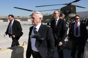 J. Mattisas: JAV neketina grobti Irako naftos