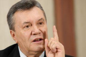 Ukraina konfiskavo 1,4 mlrd. dolerių iš V. Janukovyčiaus režimo pareigūnų sąskaitų
