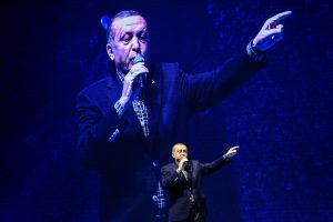 Turkijos prezidentas mitingų draudimą Vokietijoje palygino su nacių tvarka