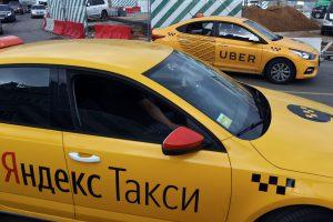 """""""Yandex. Taxi"""" atstovas: įmonė kartais naudoja serverius Rusijoje"""