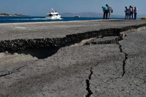Turkijos kurortą supurtė stiprokas žemės drebėjimas