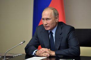 V. Putinas: Rusija sunaikino paskutines cheminių ginklų atsargas