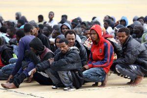 2018 metais iš Libijos į ES bus perkelta 10 tūkst. pabėgėlių?
