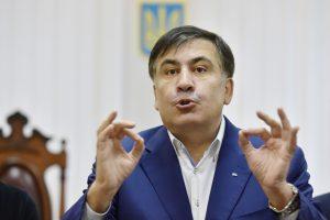 Gruzija skyrė trejus metus įkalinimo M. Saakašviliui