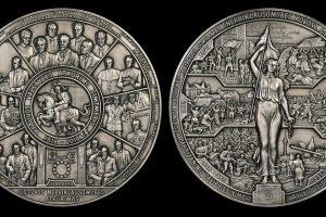 Sukurtas medalis Lietuvos valstybės atkūrimo šimtmečiui