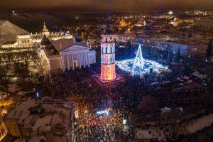 Magiškos Kalėdos į Vilnių pritraukė daugiau kaip 500 tūkst. svečių