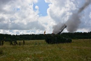 Pabradėje prasideda artilerijos ir minosvaidžių šaudymo pratybos