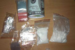 Kaune išaiškintas metamfetamino platintojas