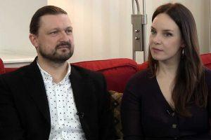 Aktorė V. Bičkutė meilę atrado jaunystės draugo glėbyje
