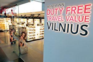 """Vilniaus oro uostas ieško naujo """"Duty Free"""" parduotuvių operatoriaus"""