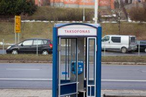 Taksofonai Lietuvoje – nepopuliarūs ir nuostolingi