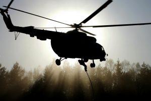 Rusijos kariniam sraigtasparniui nukritus Baltijos jūroje rastas vieno piloto kūnas
