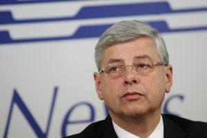 """Buvusį """"Lietuvos energijos"""" vadovą R. Juozaitį apklausė STT"""
