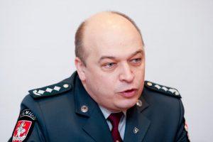 Atostogaujantis K. Lančinskas į Vilniaus VPK viršininko pareigas nebegrįš