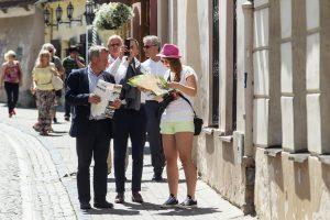 Lietuvoje jaučiamas gidų stygius