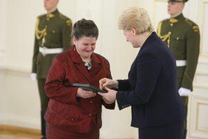 Prezidentė tradiciškai apdovanos daugiavaikes mamas