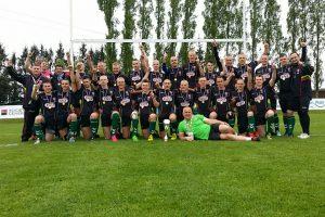 Lietuvos jaunių regbio rinktinė keliauja į aukštesnį divizioną