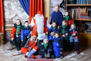 Kalėdų Seneliui Laplandijoje – Lietuvos vaikų svajonės