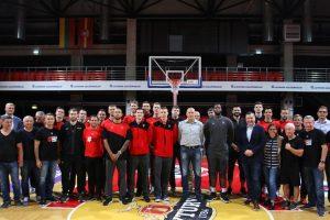 Vilniaus klubo žaidėjai linkėjo sėkmės Lietuvos rinktinei