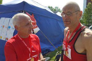 10 metų po transplantacijos – 10 kilometrų bėgte