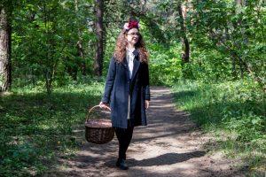 Laukų gėlelė energijos ir sveikatos semiasi miške