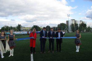 """Jonavos """"Lietavos"""" futbolininkai treniruosis naujoje aikštėje"""