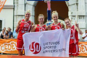 LSU merginos Kinijoje gins Lietuvos garbę