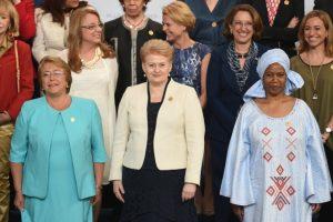 D. Grybauskaitė ragina stabdyti smurtą prieš moteris