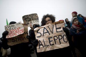Pėsčiųjų žygis iki Alepo – būdas pagerinti vakariečių įvaizdį